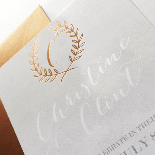 Pretty Little Paper Co. - Christine&Clint